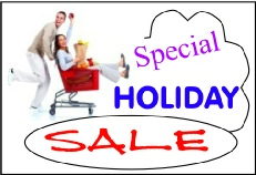 special holiday sales