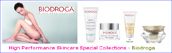 Biodroga Collection. Biodroga employs top European experts in the fields of biochemistry, dermatology and bioengineering. They ensure that only ingredients of the highest quality are processed. Naturally, as with all other Biodroga Systems products, our biological beauty systems are manufactured in strict observance of GMP . Our company guarantees that this strict standard is met in order to fulfill our commitment to unsurpassed product quality. Innovative product development, manufacturing in state-of-the-art facilities and a precise testing and control system are additional guarantees for exceptional quality.